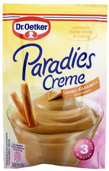Dr. Oetker® Paradies Creme Sahne Karamell Geschmack 65g